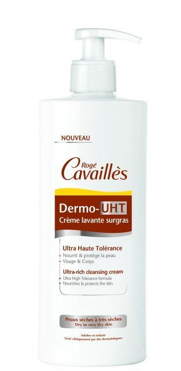 123ratio ROGE CAVAILLES Dermo U.H.T Ultrabogaty krem myjący 500 ml