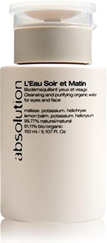 Absolution l'eau Soir ET Matin Bio Make demakijażu 150ML Abso-0EAU