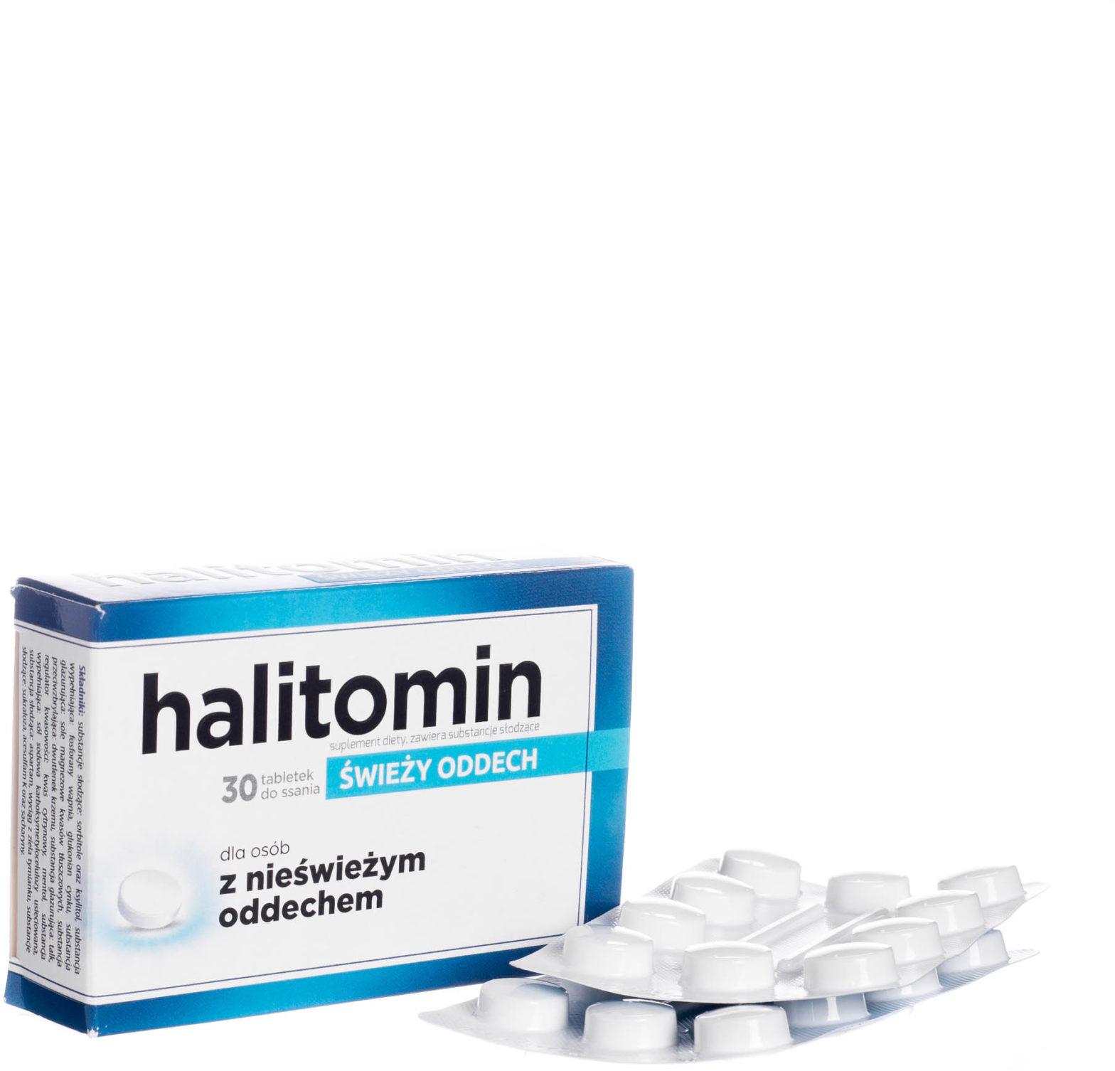 Aflofarm HALITOMIN 30 tabl do ssania 3090461