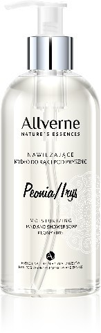 Allverne Natures Essences Mydło do rąk i pod prysznic Peonia-Irys 300ml