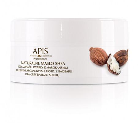 Apis Professional APIS Regeneration Naturalne masło shea do masażu twarzy 100 g