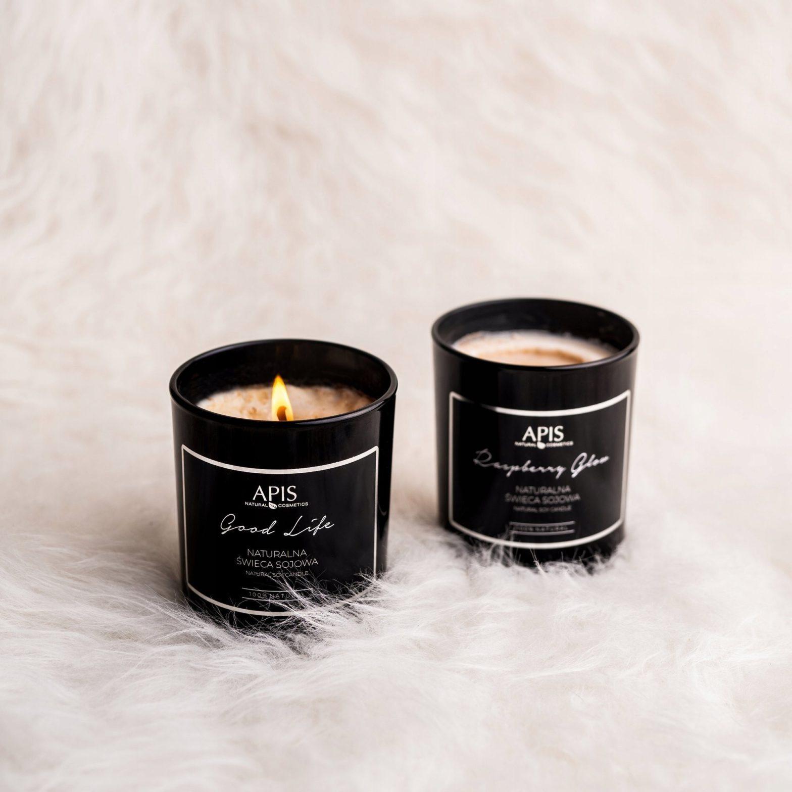 Apis Professional Naturalna zapachowa świeca sojowa Good Life