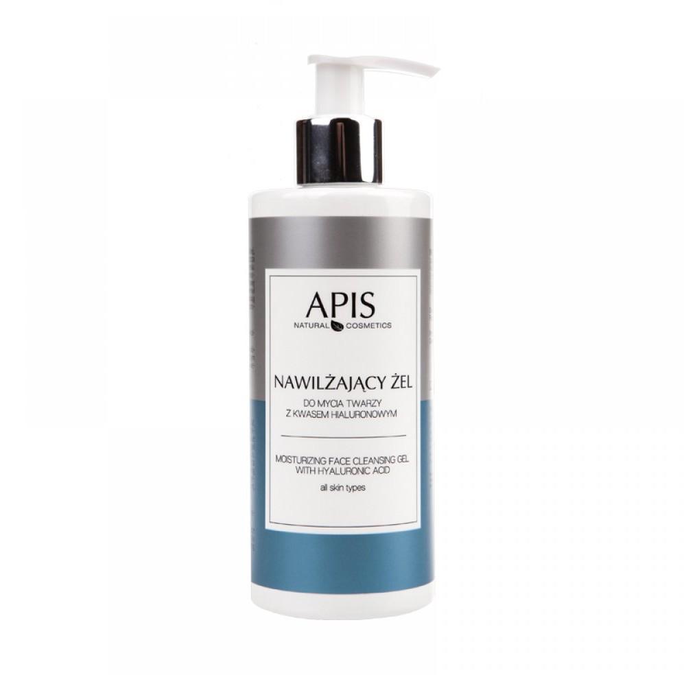 Apis Professional Nawilżający żel do mycia twarzy z kwasem hialuronowym 300 ml