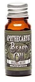 Apothecary87 Cary 87oryginalne Recipe Beard Oil 10ML 5060401130039