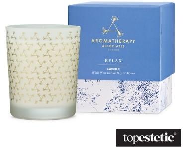 Aromatherapy Associates Aromatherapy Associates Relax Candle Relaksująca świeca - mirra i olejek bajowy 1 szt.