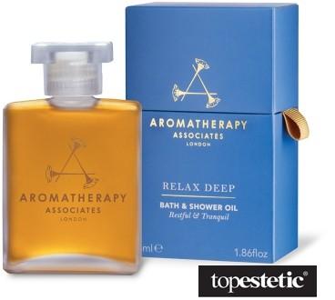 Aromatherapy Associates Relax Deep Bath & Shower Oil Głęboko relaksujący olejek do kąpieli i pod prysznic 55 ml