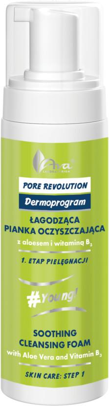 Ava Labolatorium Laboratorium Pore Revolution Łagodząca Pianka Oczyszczająca 4723