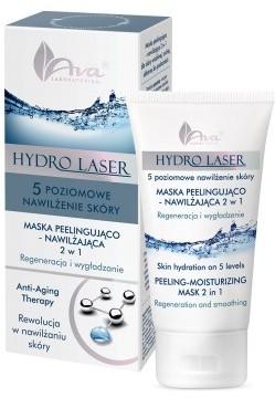 Ava Laboratorium Hydro Laser Maska Peelingująco nawilżająca 2w1 50ml 5906323004464