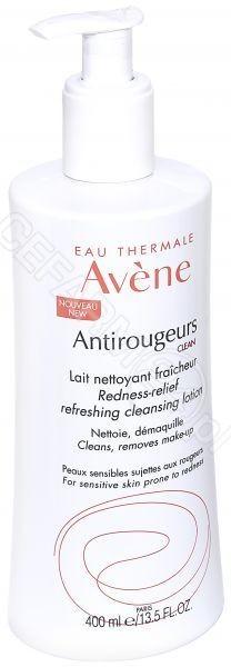 AVENE Avene Antirougeurs Clean mleczko oczyszczająco odświeżające 400 ml | DARMOWA DOSTAWA OD 149 PLN!