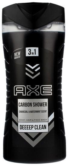 Axe Żel pod prysznic dla mężczyzn 3in1 Carbon 400ml