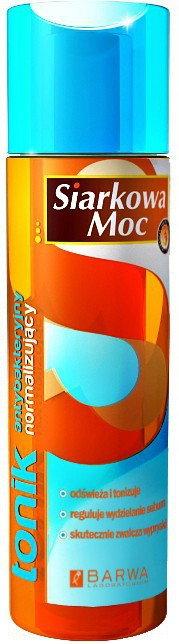 Barwa Siarkowa Moc tonik normalizująco antybakteryjny 200ml