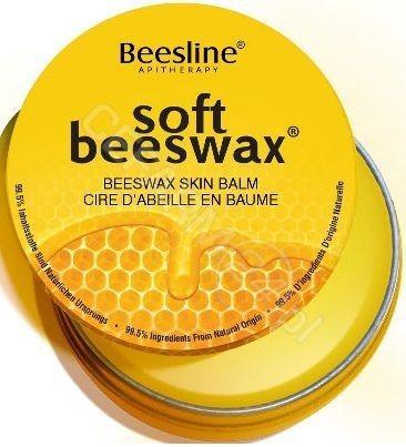 Beesline Beesline, balsam do ust z woskiem pszczelim, 40 g