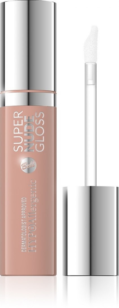 Bell Hypoallergenic Błyszczyk do ust Super Nude Gloss nr 05 15ml 8330473