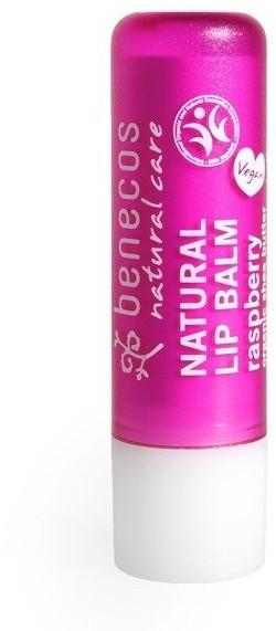 BENECOS Naturalny balsam do ust MALINA