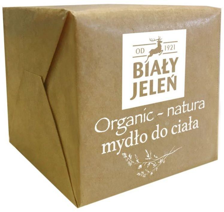Biały Jeleń Organic-Natura 170g Mydło do ciała w kostce