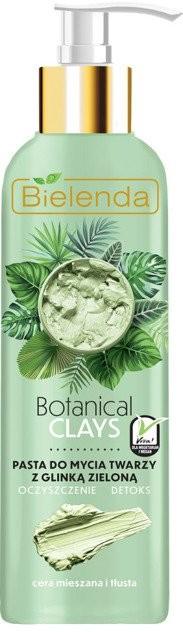 Bielenda Botanical Clays pasta do mycia twarzy z glinką zieloną 190g