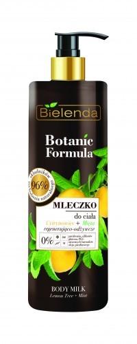 Bielenda KOSMETYKI NATURALNE Botanic mleczko do ciała cytrynowiec+mięta 400ml