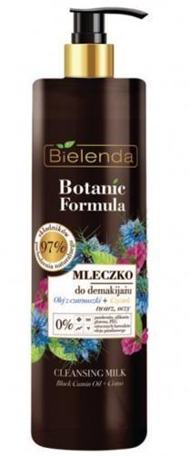 Bielenda KOSMETYKI NATURALNE Botanic mleczko do demakijażu czarnuszka+czystek 200ml