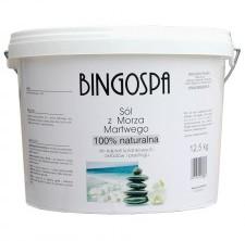 BingoSpa Sól z Morza Martwego z borowiną i rozmarynem 12,5 kg