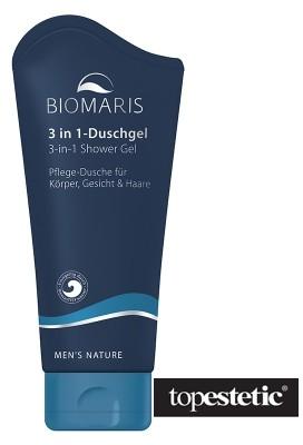 Biomaris 3 in 1 Shower Gel Żel pod prysznic 3w1 200 ml