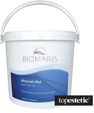 Biomaris Bath Sea Salt Sól morska do kąpieli i okładów 6 kg