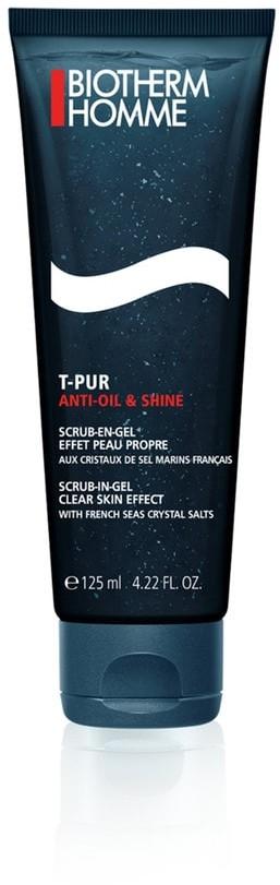 Biotherm Homme T-Pur Anti Oil & Shine żel oczyszczający do twarzy 125 ml