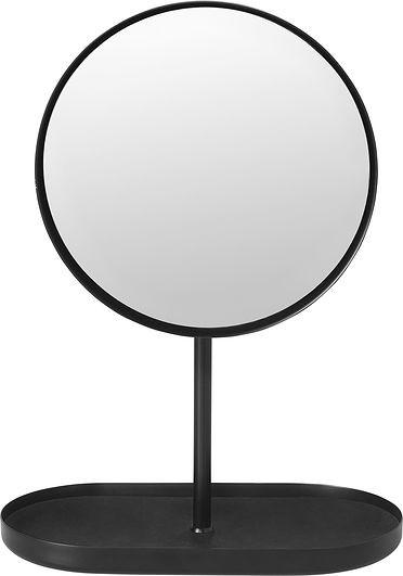 Blomus Lusterko z podstawką Modo czarne 69085