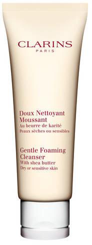 Clarins Gentle Foaming Cleanser - Łagodna Pianka do Demakijażu - Skóra Sucha i Wrażliwa 125 ml