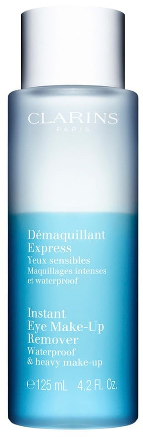 Clarins Instant Eye Make Up Remover dwufazowy płyn do demakijażu oczu 125 ml