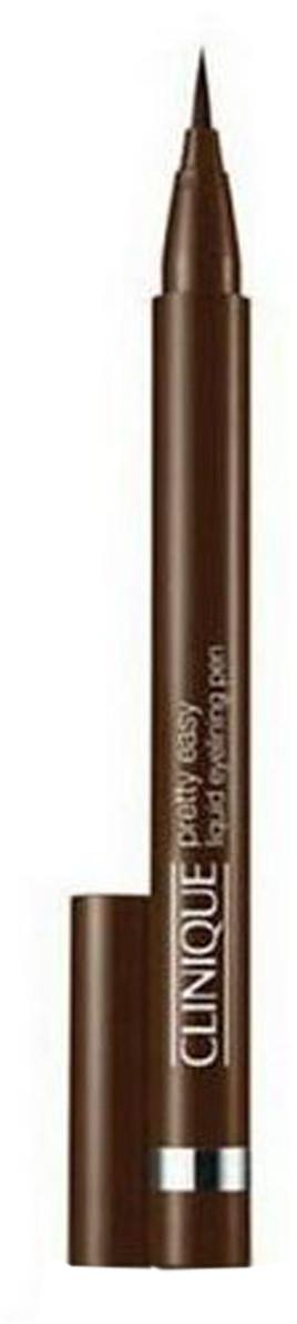 Clinique Pretty Easy Liquid Eyelining Pen Płynny eyeliner w ołówku 0,67 g 02 Brown