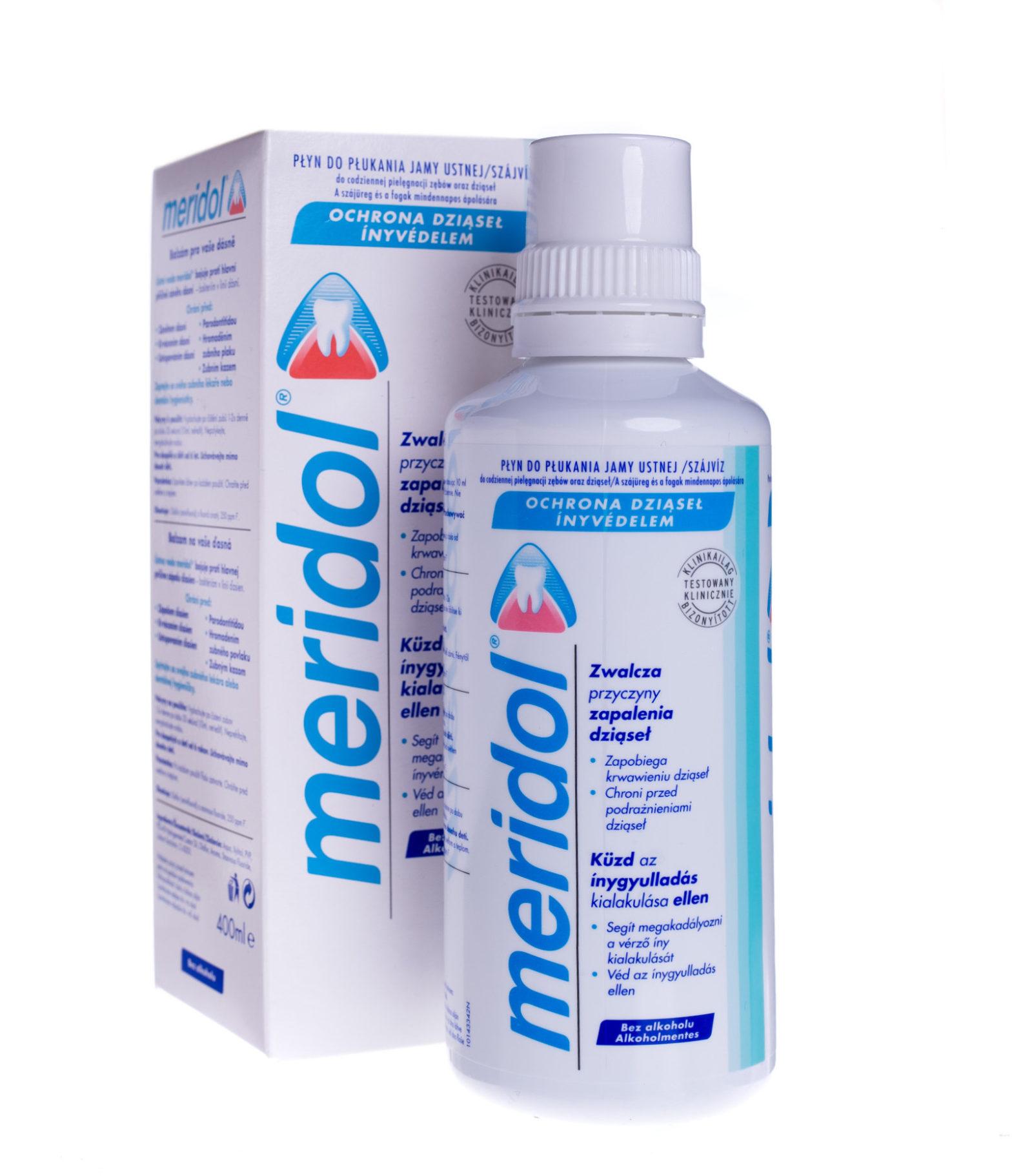 Colgate Palmolive Palmolive Meridol Ochrona Dziąseł Płyn do płukania jamy ustnej 400 ml