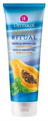 Dermacol Aroma Ritual Papaya & Mint żel pod prysznic 250 ml dla kobiet