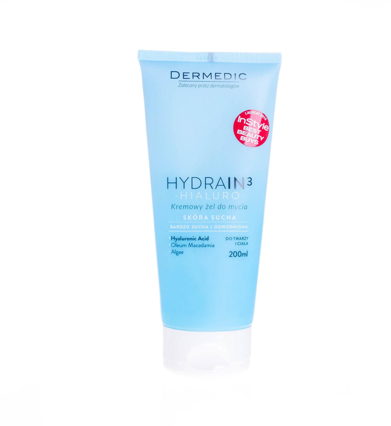 Dermedic HYDRAIN 3 HIALURO kremowy żel do mycia 200ml
