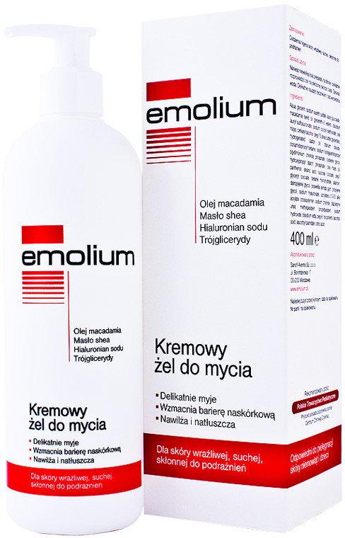 Emolium Kremowy żel do mycia 400 ml
