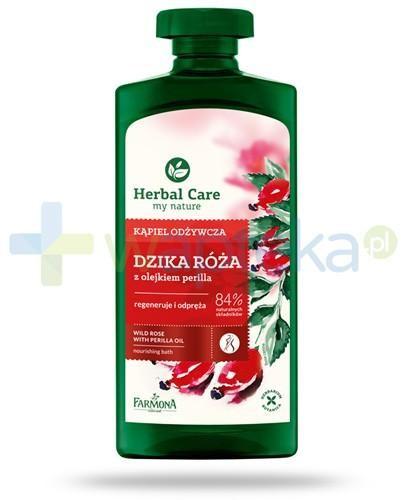 Farmona Herbal Care Dzika róża płyn do kąpieli z olejkiem perilla 500 ml 1126859