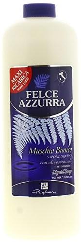 Felce Azzurra muschio Bianco płynnego mydła (liquid Soap) 750 ML butelka do uzupełniania