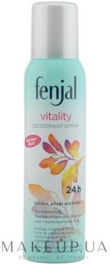 Fenjal Perfumowany dezodorant w sprayu - Vitality Deodorant Spray 24H Perfumowany dezodorant w sprayu - Vitality Deodorant Spray 24H