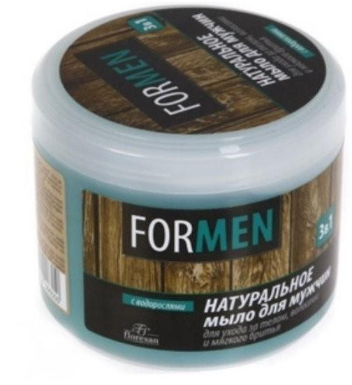 Floresan Floresan, naturalne mydło dla mężczyzn do pielęgnacji ciała, włosów i golenia, 450 g