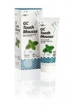 GC Corporation Corporation Tooth Mousse ochronna pasta bez fluoru 35ml (płynne szkliwo) - smak miętowy