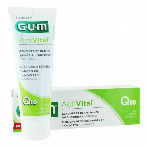 GUM Butler GUM ActiVital 6050- pasta do mycia zębów przeciw chorobom dziąseł, 75 ml 6050