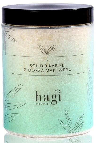 HAGI HAGI Sól do kąpieli z Morza Martwego 1200g 42425-uniw