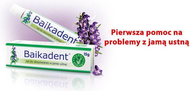 Herbapol Baikadent żel do jam.ust. 5,77 mg/1g