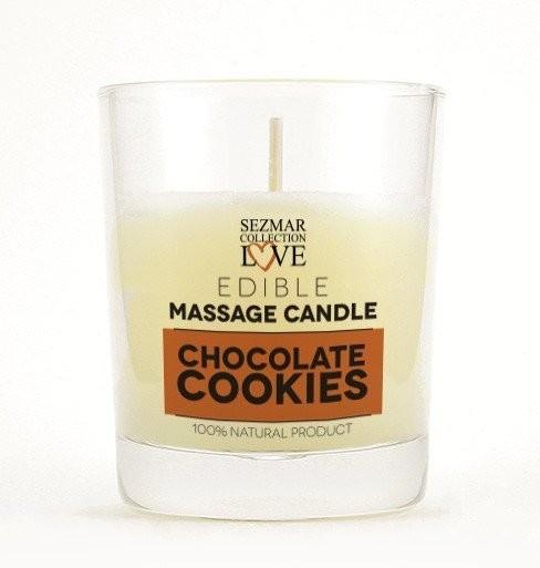 Hristina Hristina Naturalna świeca do masażu czekolada 100 ml