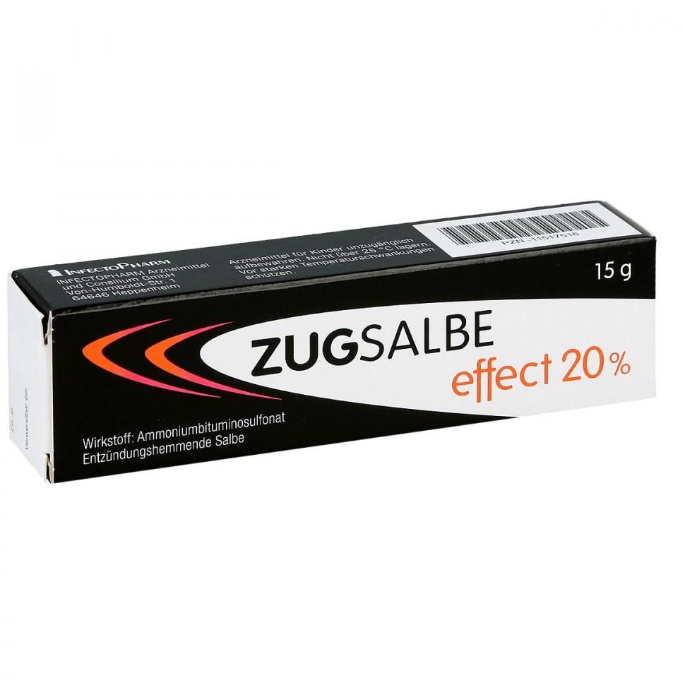 INFECTOPHARM Arzn.u.Consilium Zugsalbe effect 20% Salbe 15 g