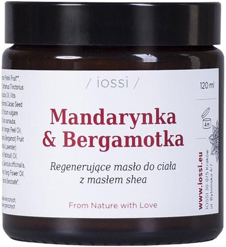 Iossi Regenerujące Masło do Ciała Mandarynka i Bergamotka 120ml 14
