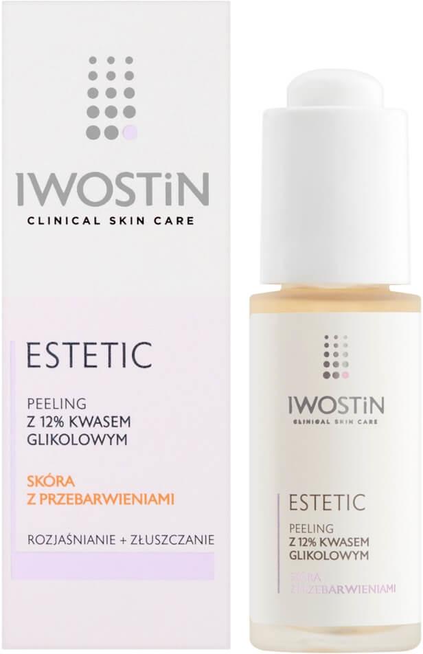 Iwostin SANOFI AVENTIS SP Z O.O ESTETIC Peeling z 12% kwasem glikolowym 30 ml 7072403