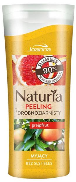 Joanna Naturia drobnoziarnisty myjący peeling do ciała Grejpfrut 100g