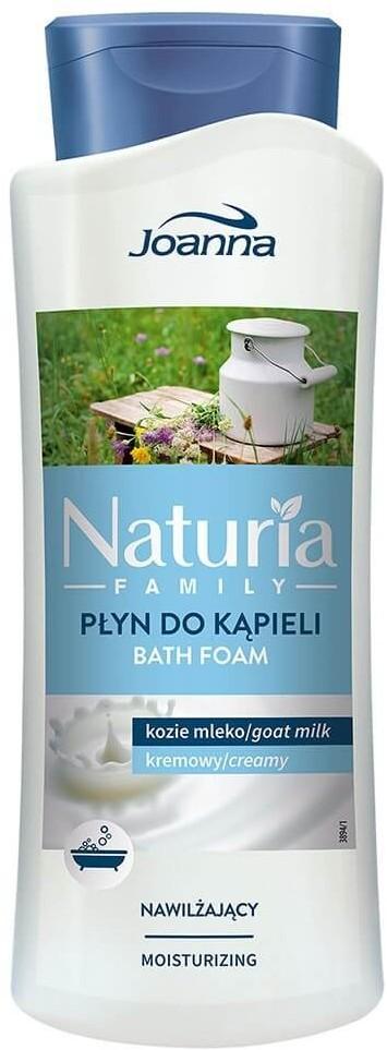 Joanna NATURIA Family nawilżający płyn do kąpieli KOZIE MLEKO 750ml