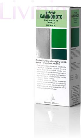 Kaminomoto KAMINOMOTO Hair Growth Tonic II  tonik do pielęgnacji włosów i skóry głowy, 180 ml 620-uniw