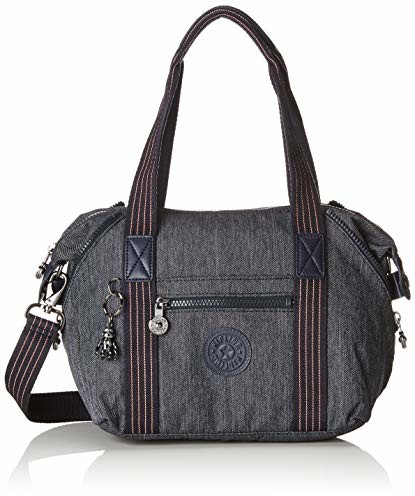 Kipling damskie Rodzaj Mini torba z uszami, 34 x 21 x 18.5 cm - niebieski -